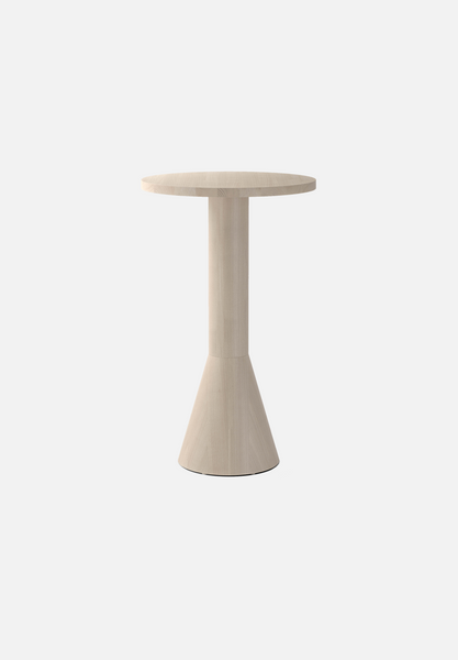 "Draft Bar Table — Beech-Massproductions-Ø 70cm / 27.6""-AVG"