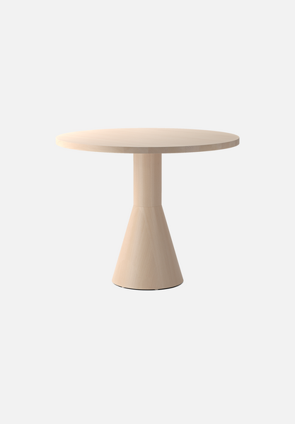 Draft Dining Table — Round Beech-Massproductions-AVG