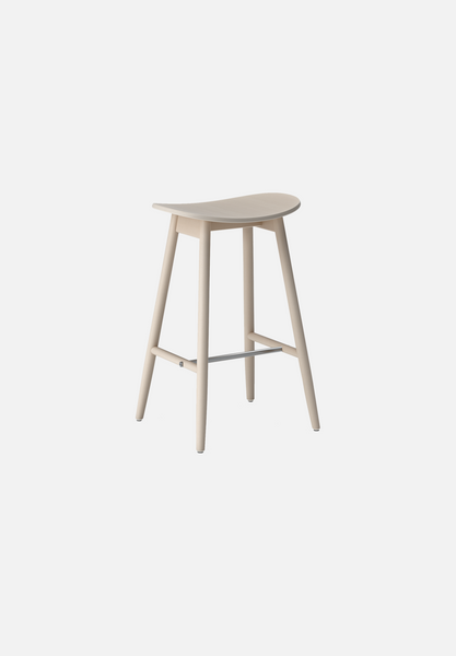 Icha Bar/Counter Stool — White Oak-Massproductions-AVG