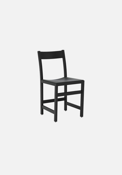 Waiter Chair — Black Stained Beech