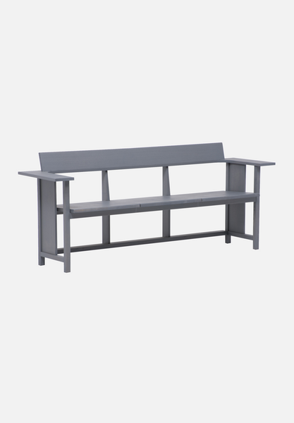 MC10 Clerici Bench — Ash, Stained Grey