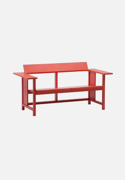 MC10 Clerici 2 Seat Lounge — Ash, Stained Red