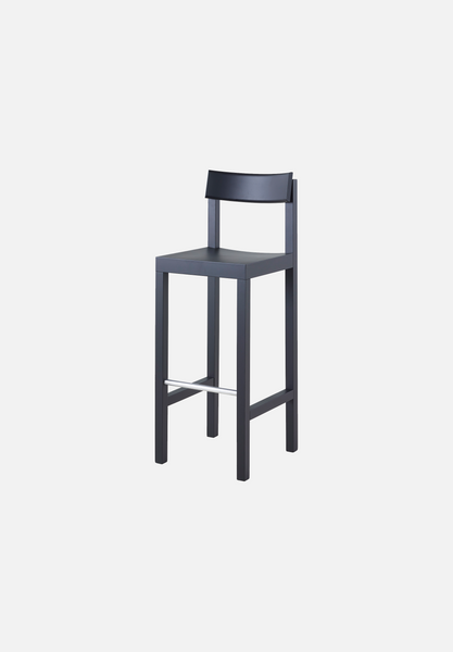 MC14 Primo Bar/Counter Stool — Black-Konstantin Grcic-Mattiazzi-AVG