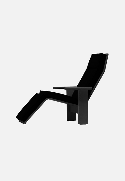 MC15 Quindici Chaise Lounge — Ash, Stained Black