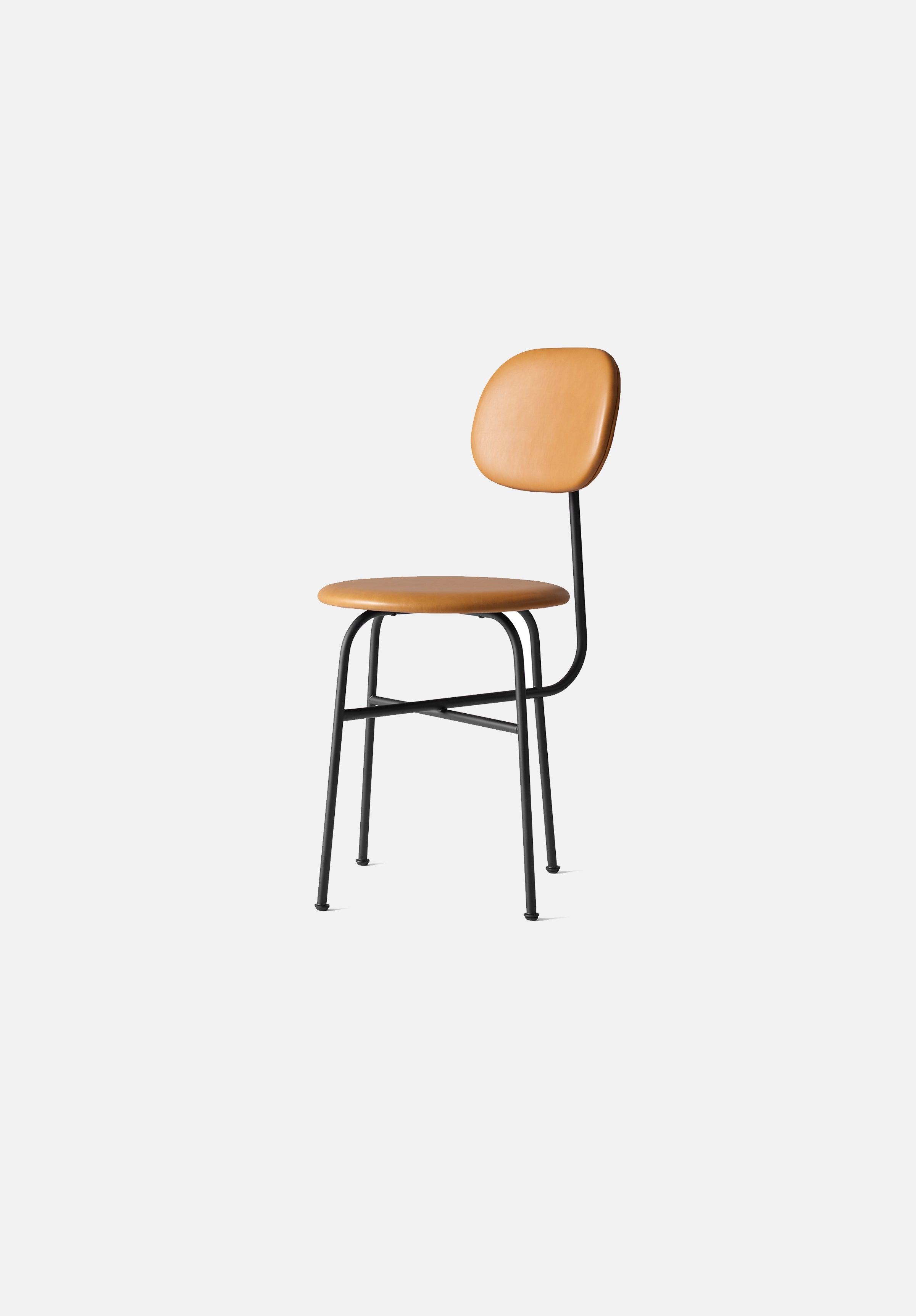 Afteroom Dining Chair — Plus-Afteroom-Menu-Cognac Leather-Average