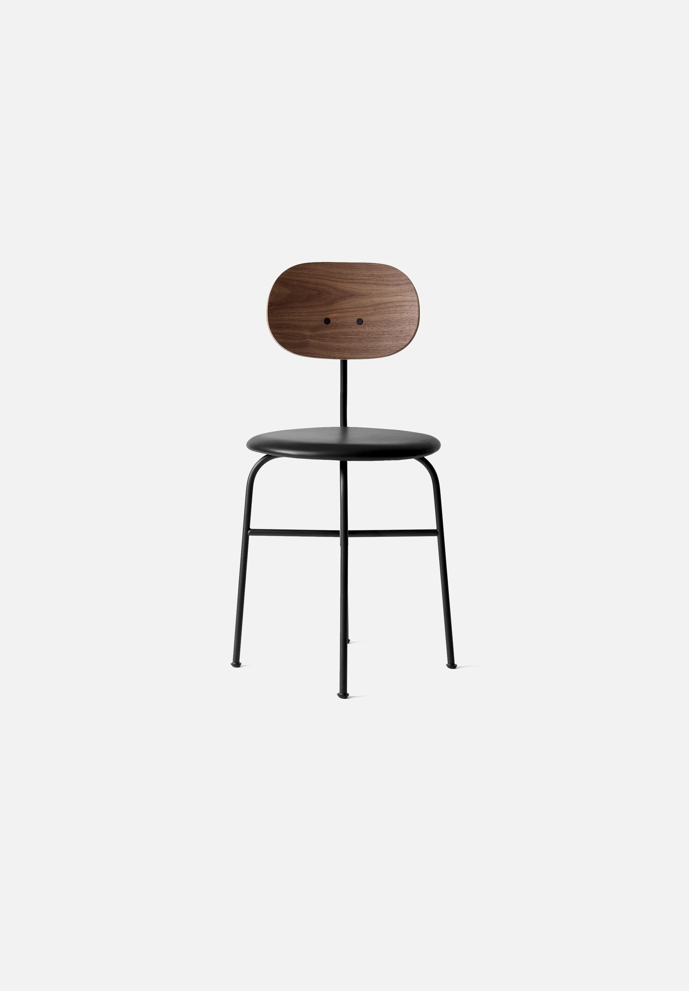 Afteroom Dining Chair — Plus-Afteroom-Menu-Black/Walnut-Average