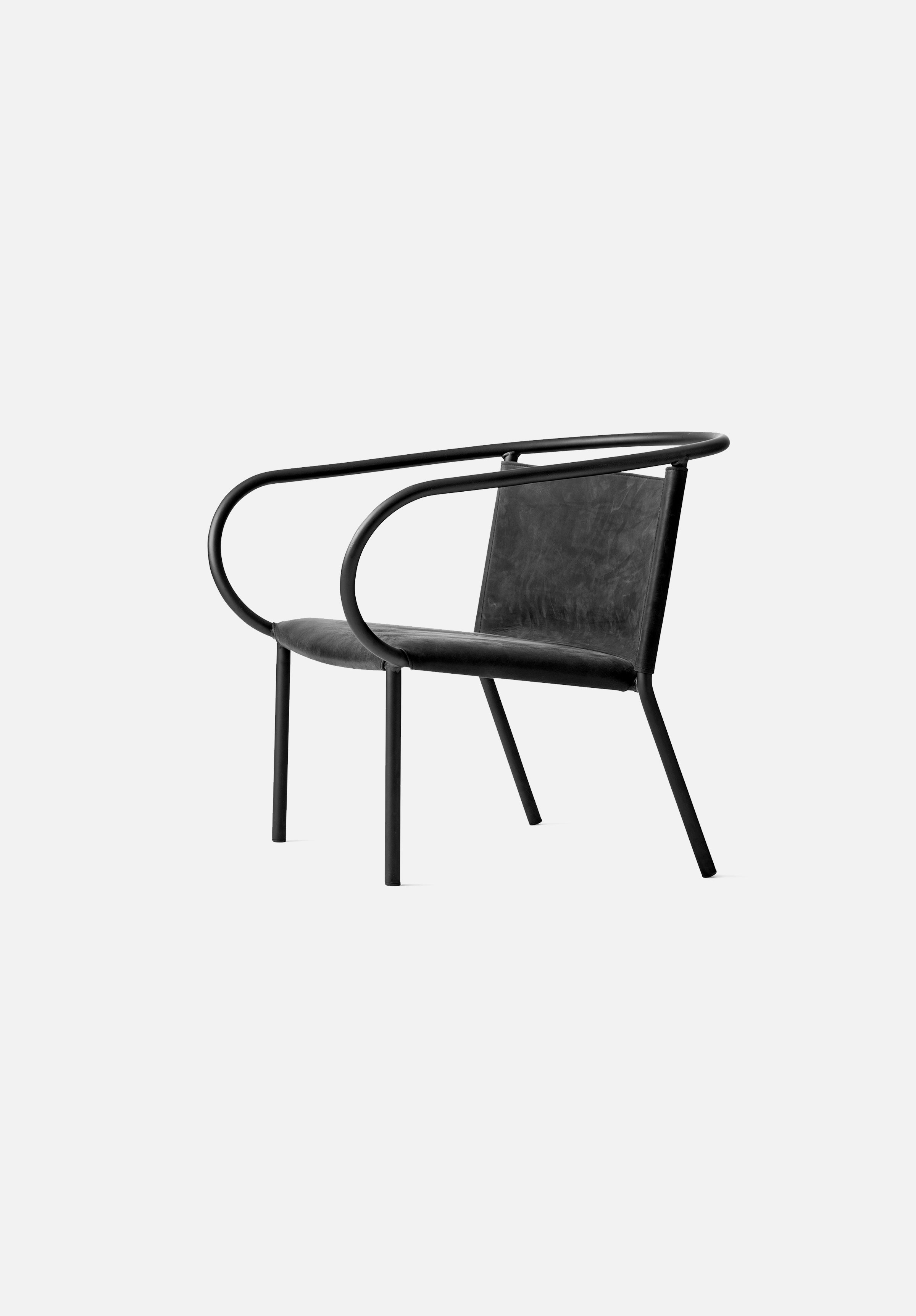 Afteroom Lounge Chair-Afteroom-Menu-Black-Average
