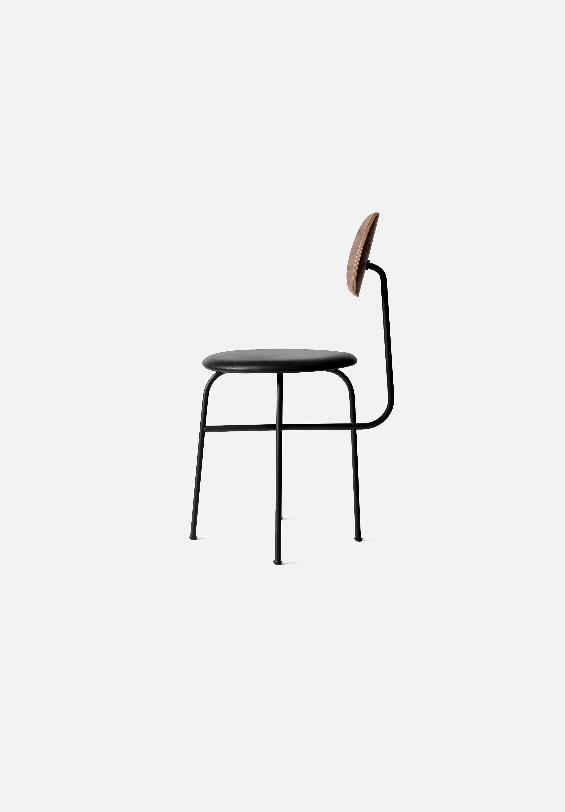 Afteroom Dining Chair — Plus-Afteroom-Menu-Black/Black-Average