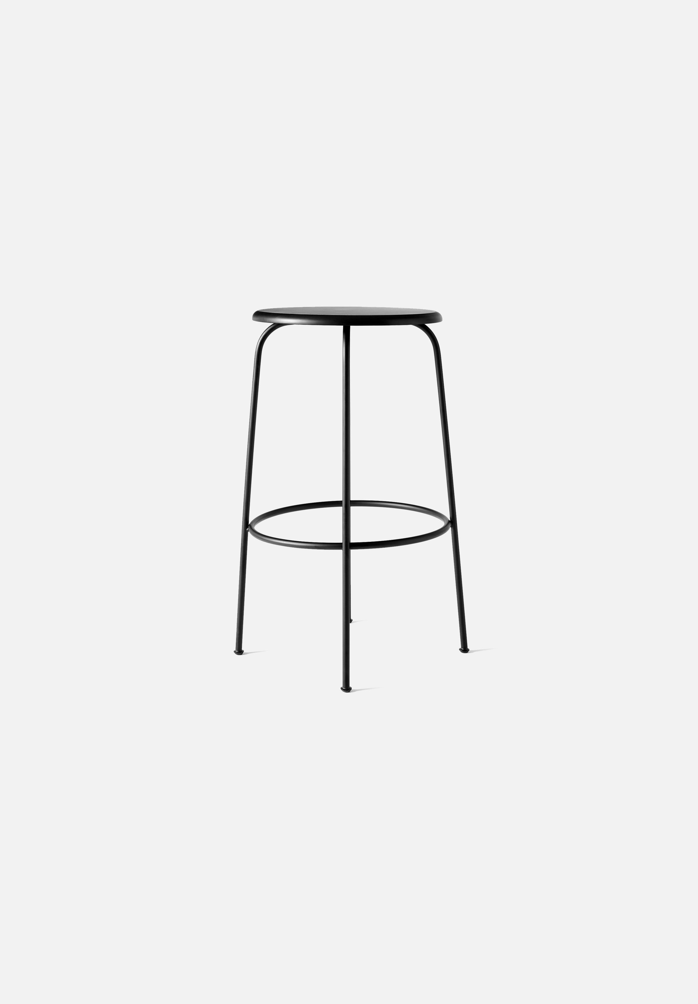 Afteroom Counter/Bar Stool-Afteroom-Menu-Painted Black-Bar-Average