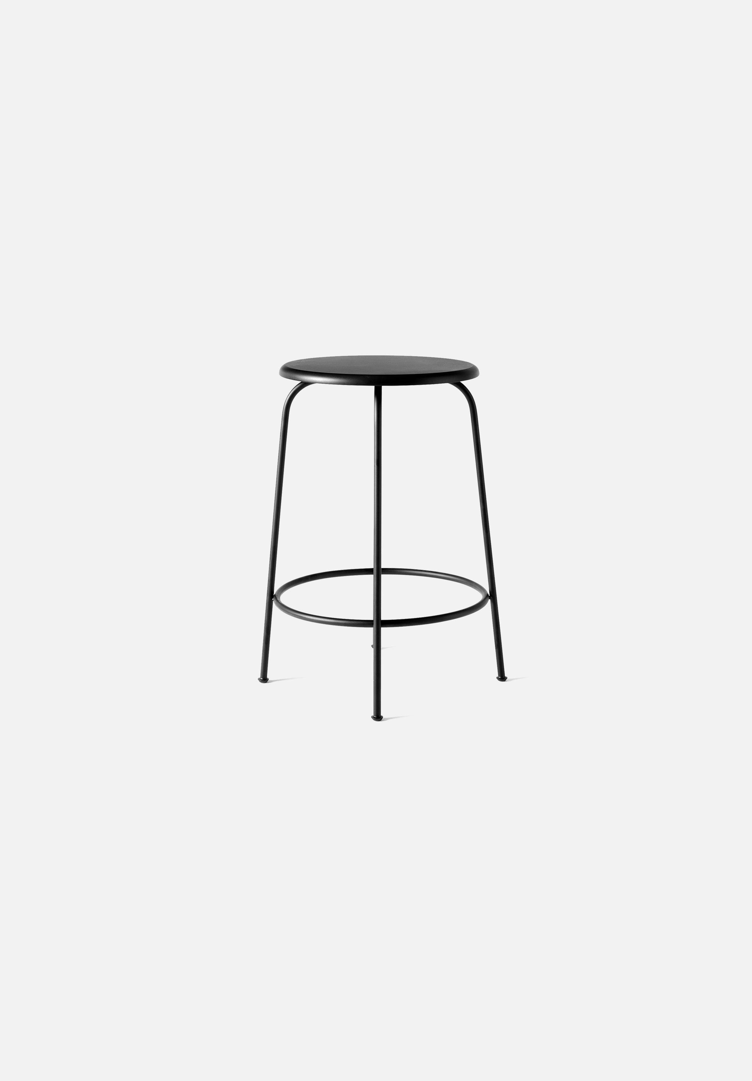 Afteroom Counter/Bar Stool-Afteroom-Menu-Painted Black-Counter-Average