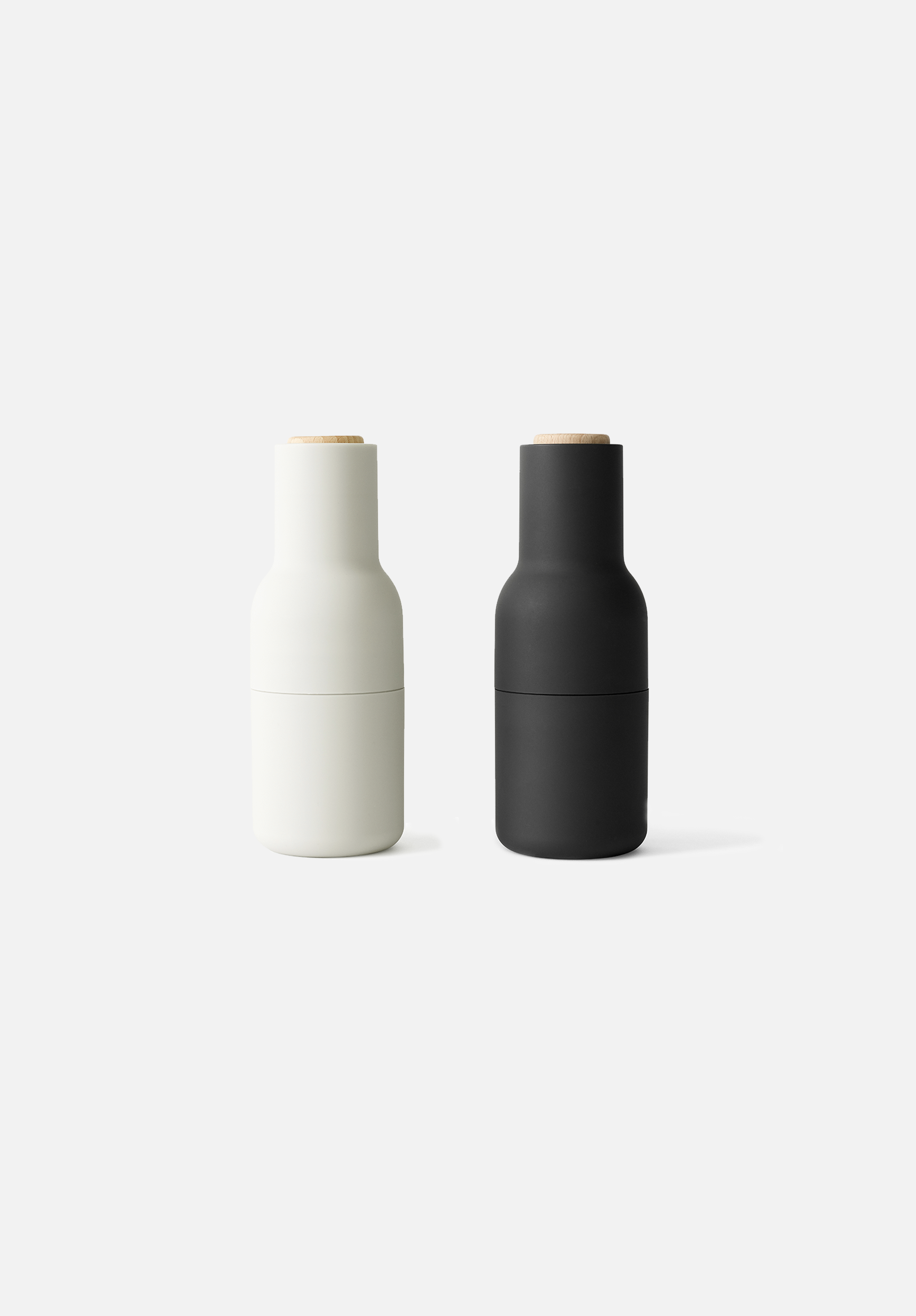 Bottle Grinders Set — Carbon / Ash