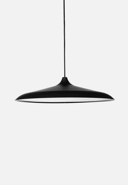 Circular LED Pendant-Studio WM-Menu-Black-Average