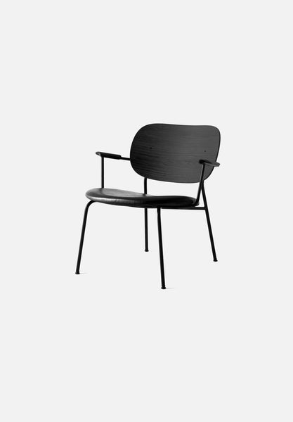 Co-Chair — Lounge-Norm Architects-Menu-Black Oak / Black Leather-Average