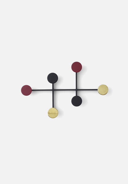 Afteroom Coat Hanger-Afteroom-Menu-Black/Brass-Average