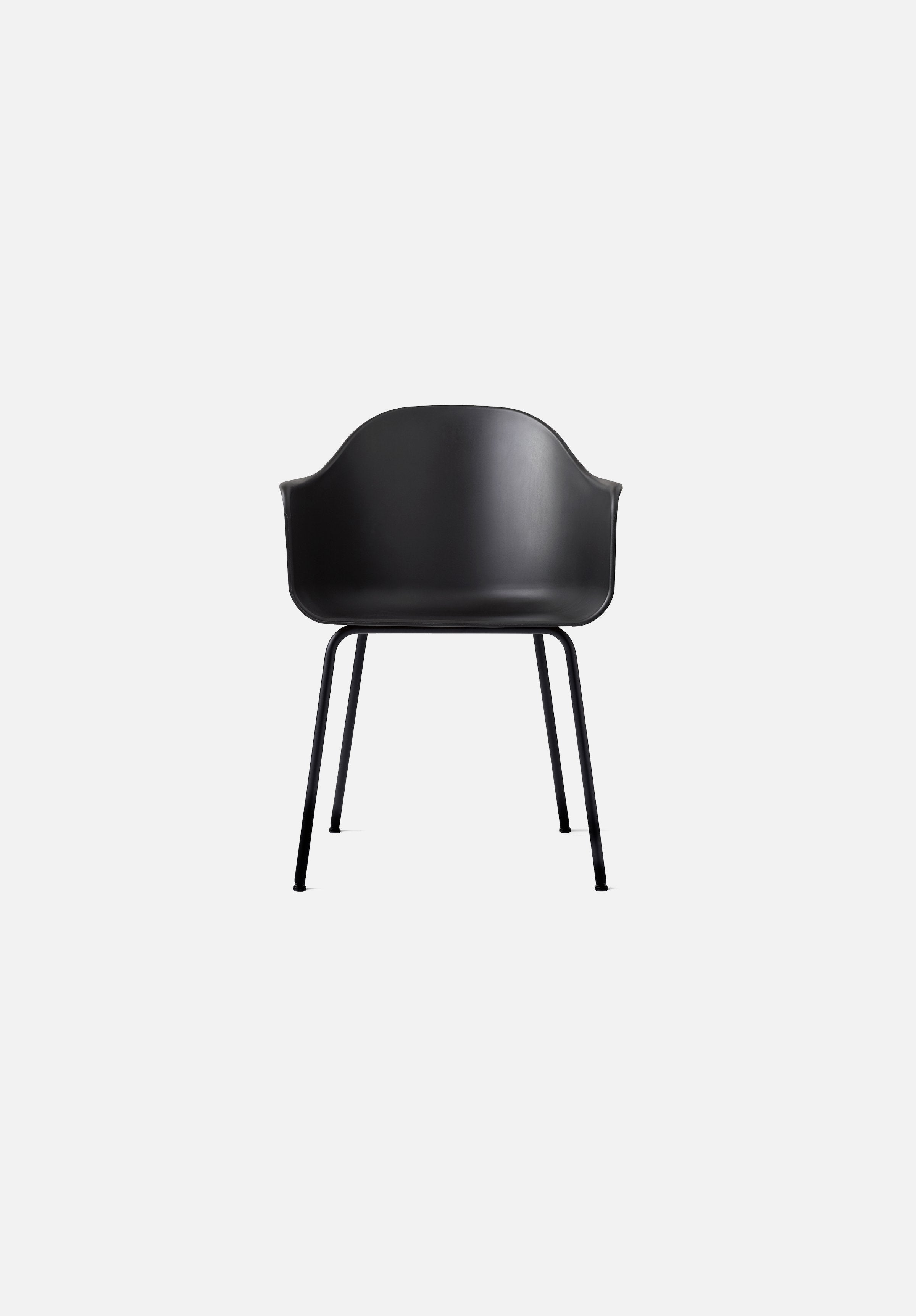 Harbour Chair - Steel Base-Norm Architects-Menu-black-Black Steel-danish-interior-furniture-denmark-Average-design-toronto-canada