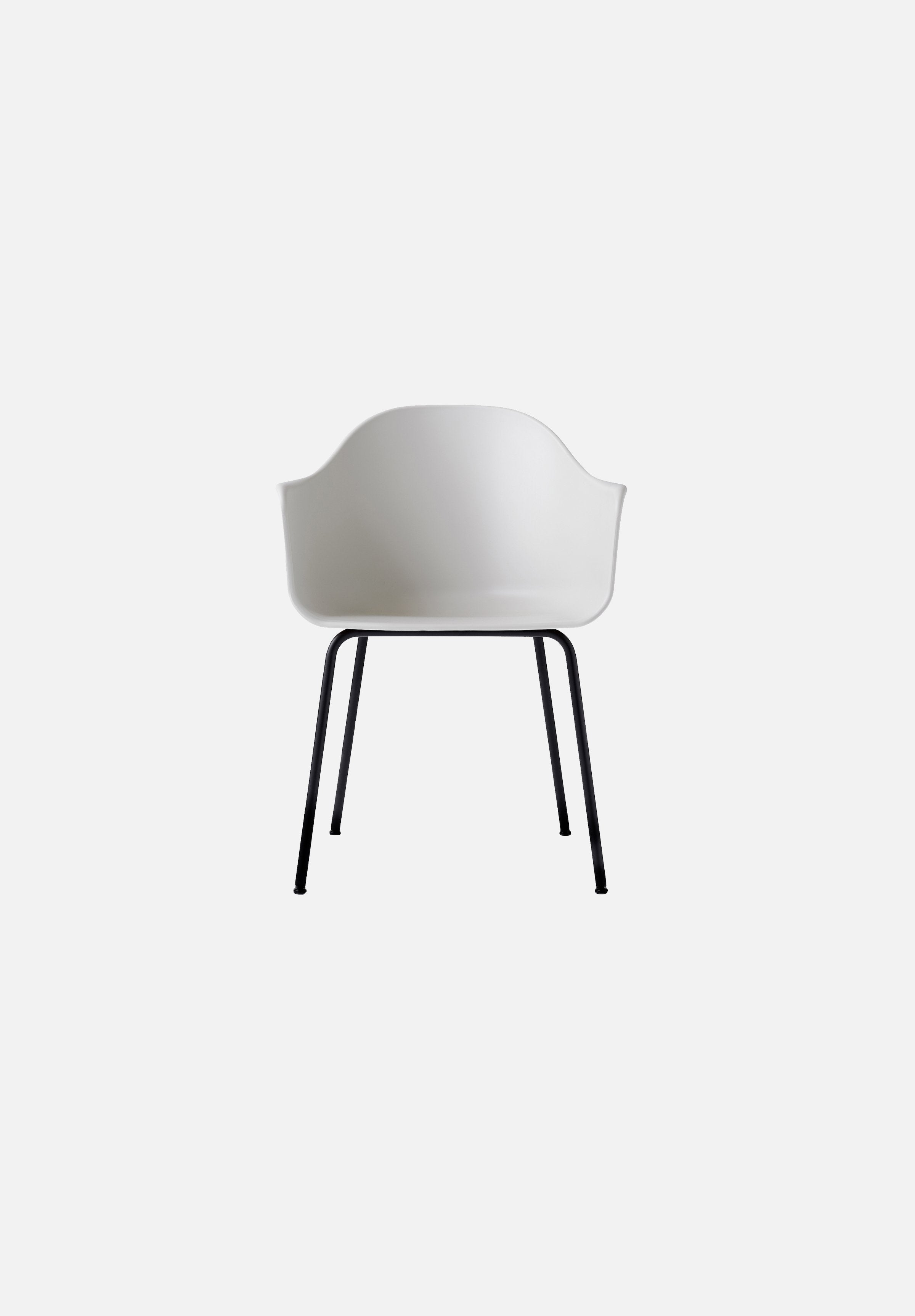 Harbour Chair - Steel Base-Norm Architects-Menu-light_grey-Black Steel-danish-interior-furniture-denmark-Average-design-toronto-canada