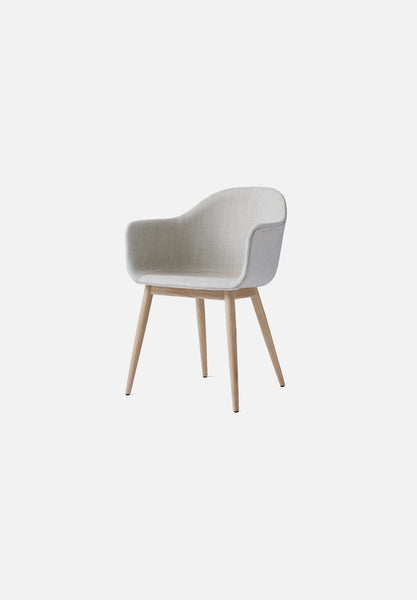 Harbour Chair — Oak Base-Norm Architects-Menu-Black-Natural Oak-Average