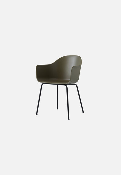 Harbour Chair — Steel Base-Norm Architects-Menu-White-White Steel-Average