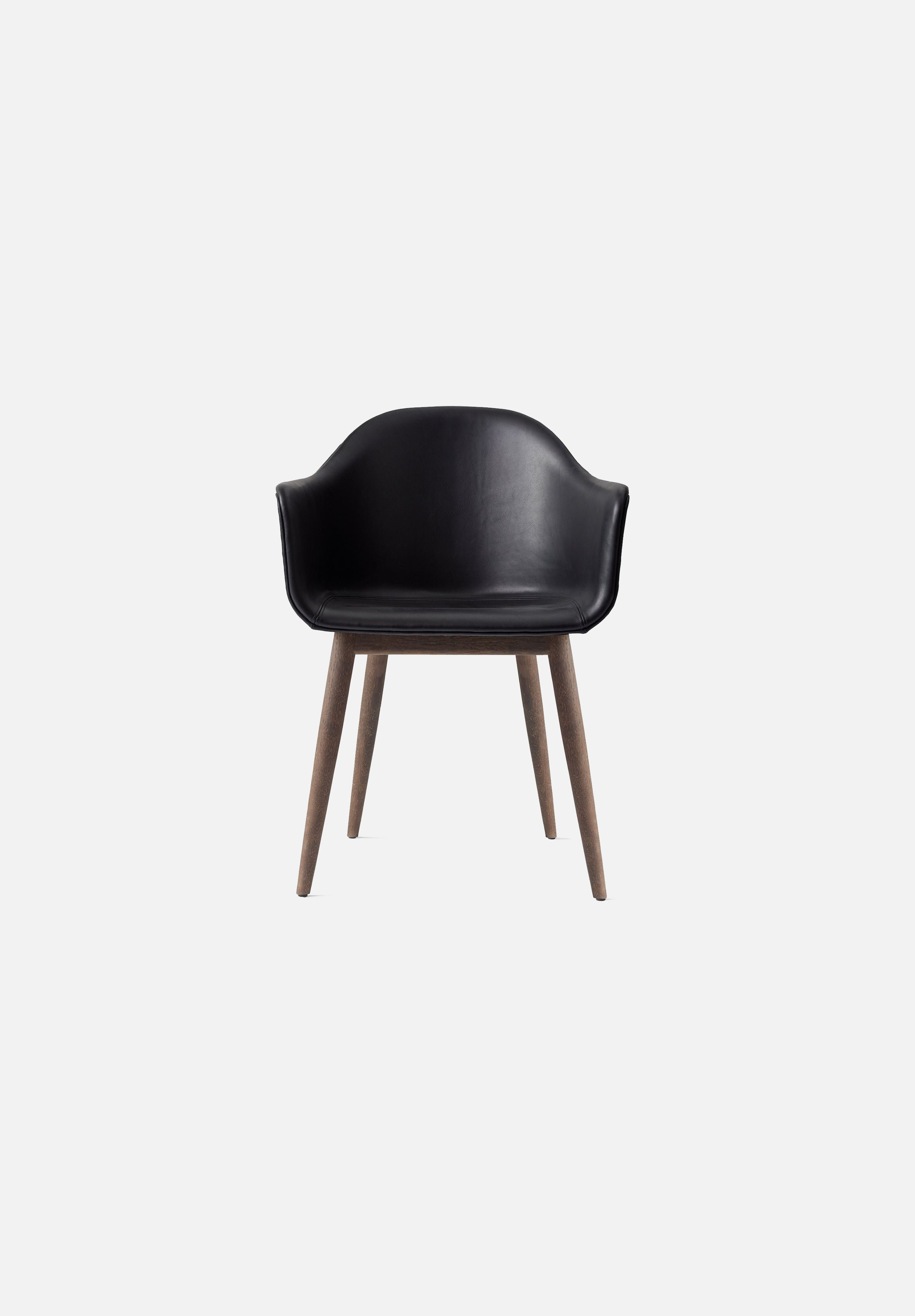 Harbour Chair — Black Leather