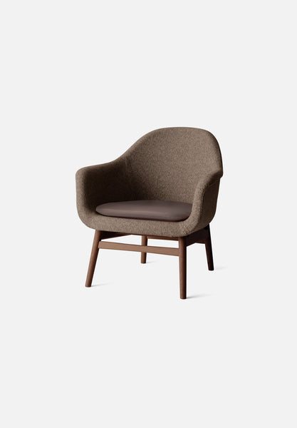 Harbour Lounge Chair — Dark Stained Oak