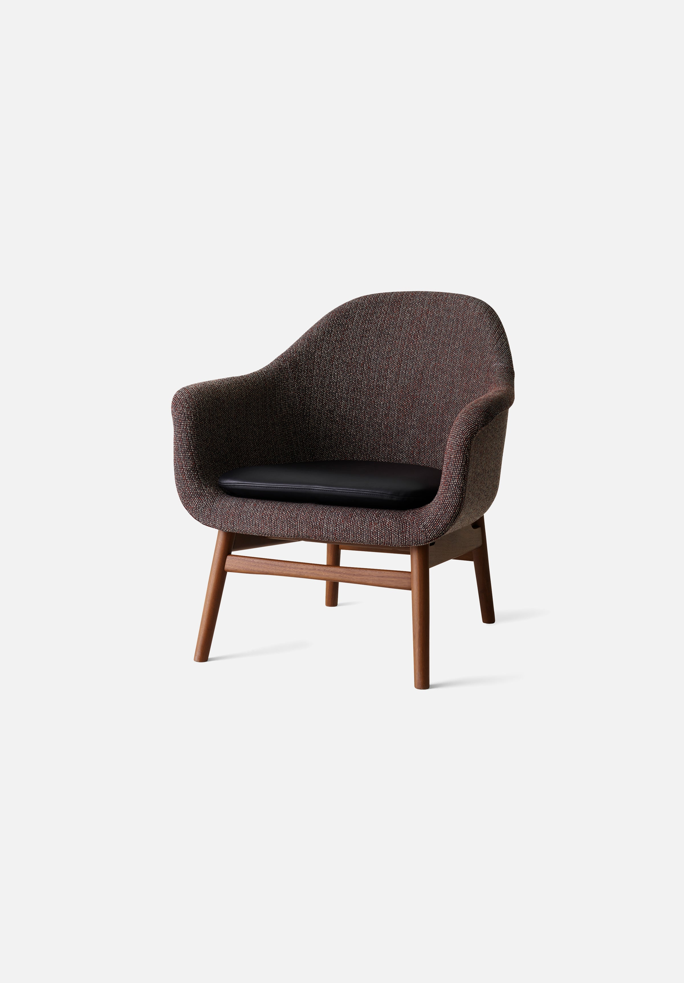 Harbour Lounge Chair-Norm Architects-Menu-Walnut-Average
