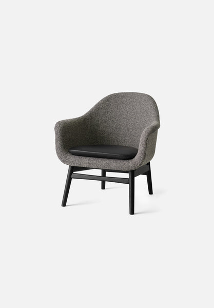 Harbour Lounge Chair-Norm Architects-Menu-Black Oak-Average