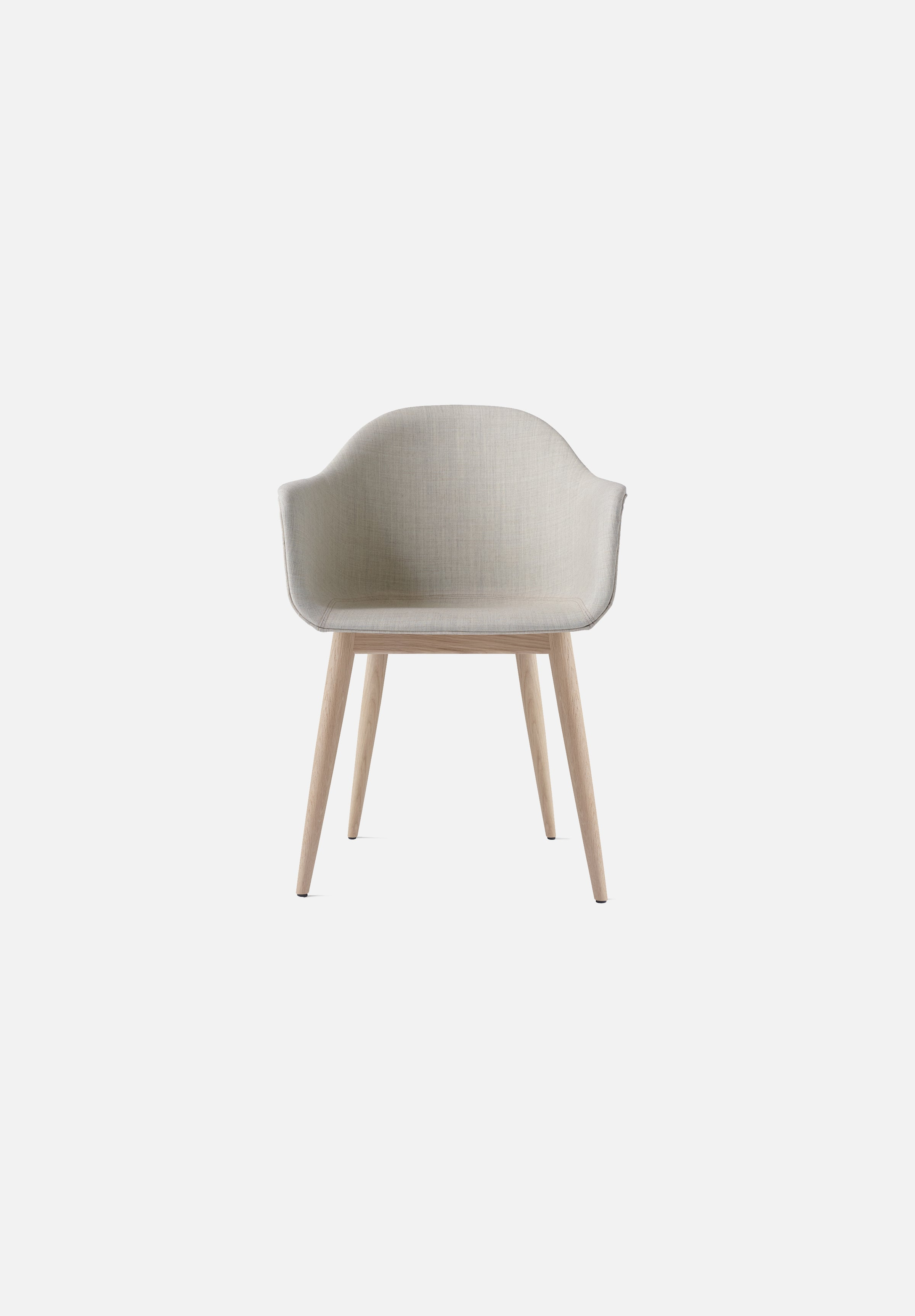 Harbour Chair — Oak Base-Norm Architects-Menu-Remix 2 Upholstery-Natural Oak-Average