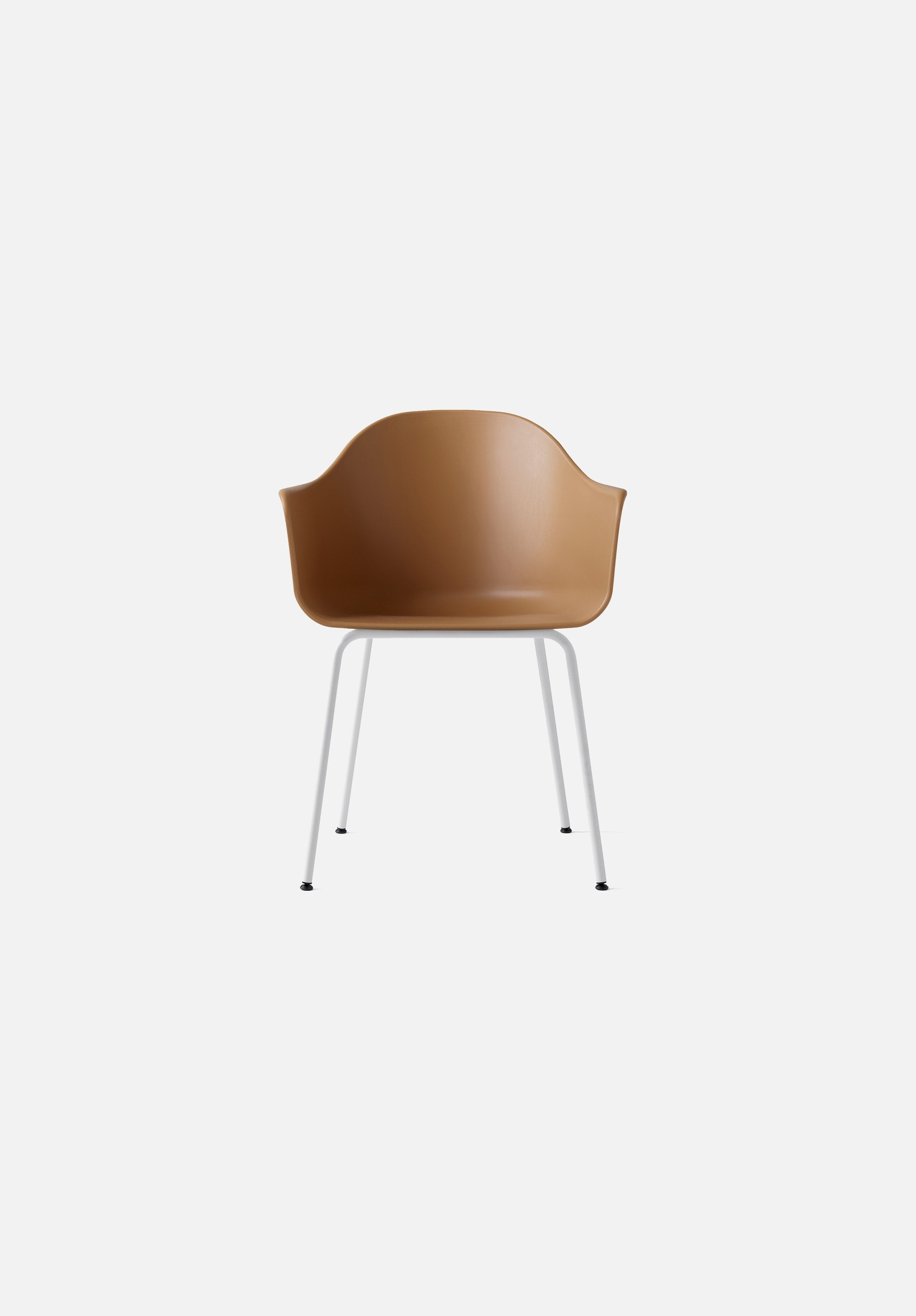 Harbour Chair - Steel Base-Norm Architects-Menu-khaki-White Steel-danish-interior-furniture-denmark-Average-design-toronto-canada