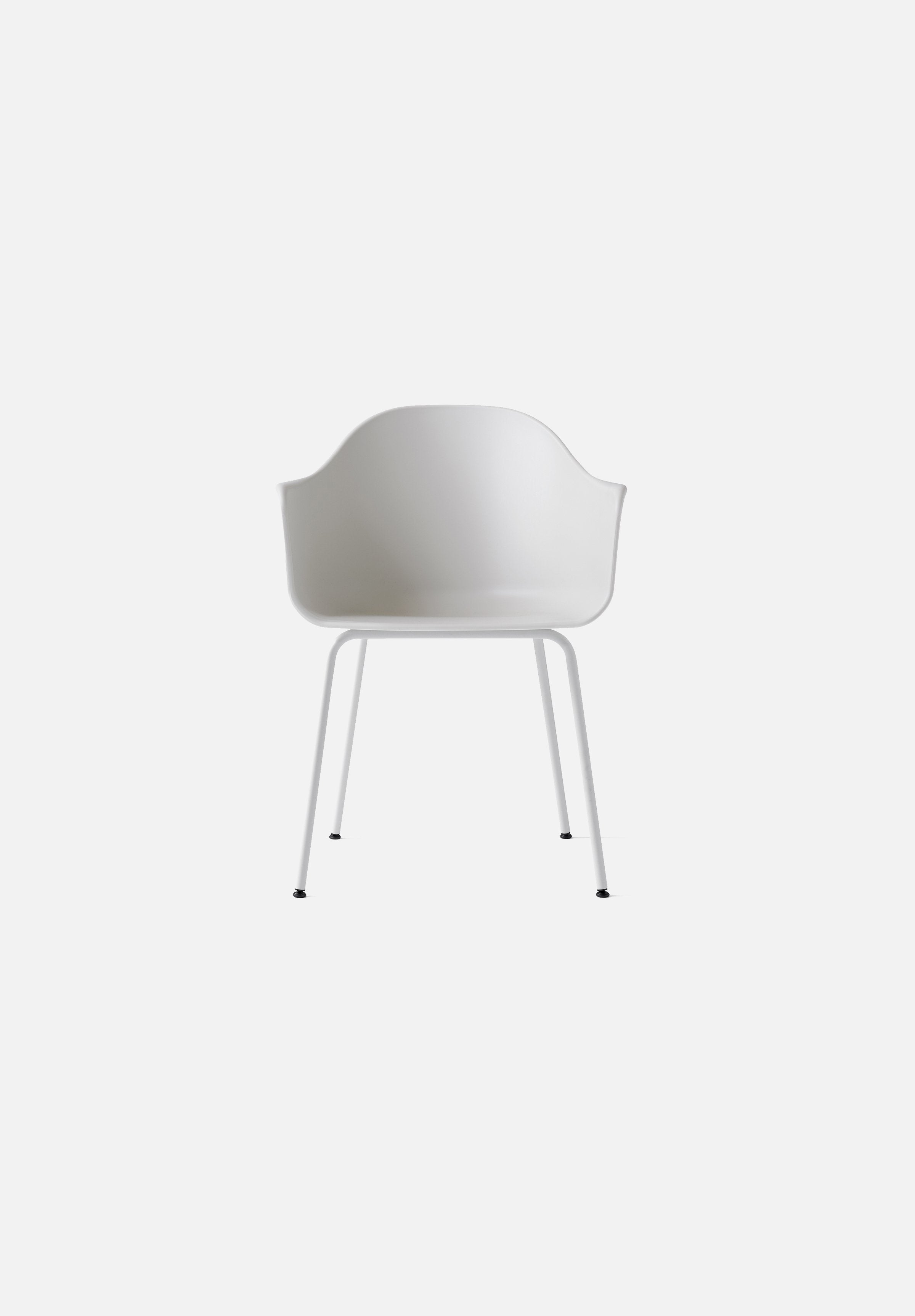 Harbour Chair - Steel Base-Norm Architects-Menu-light_grey-White Steel-danish-interior-furniture-denmark-Average-design-toronto-canada