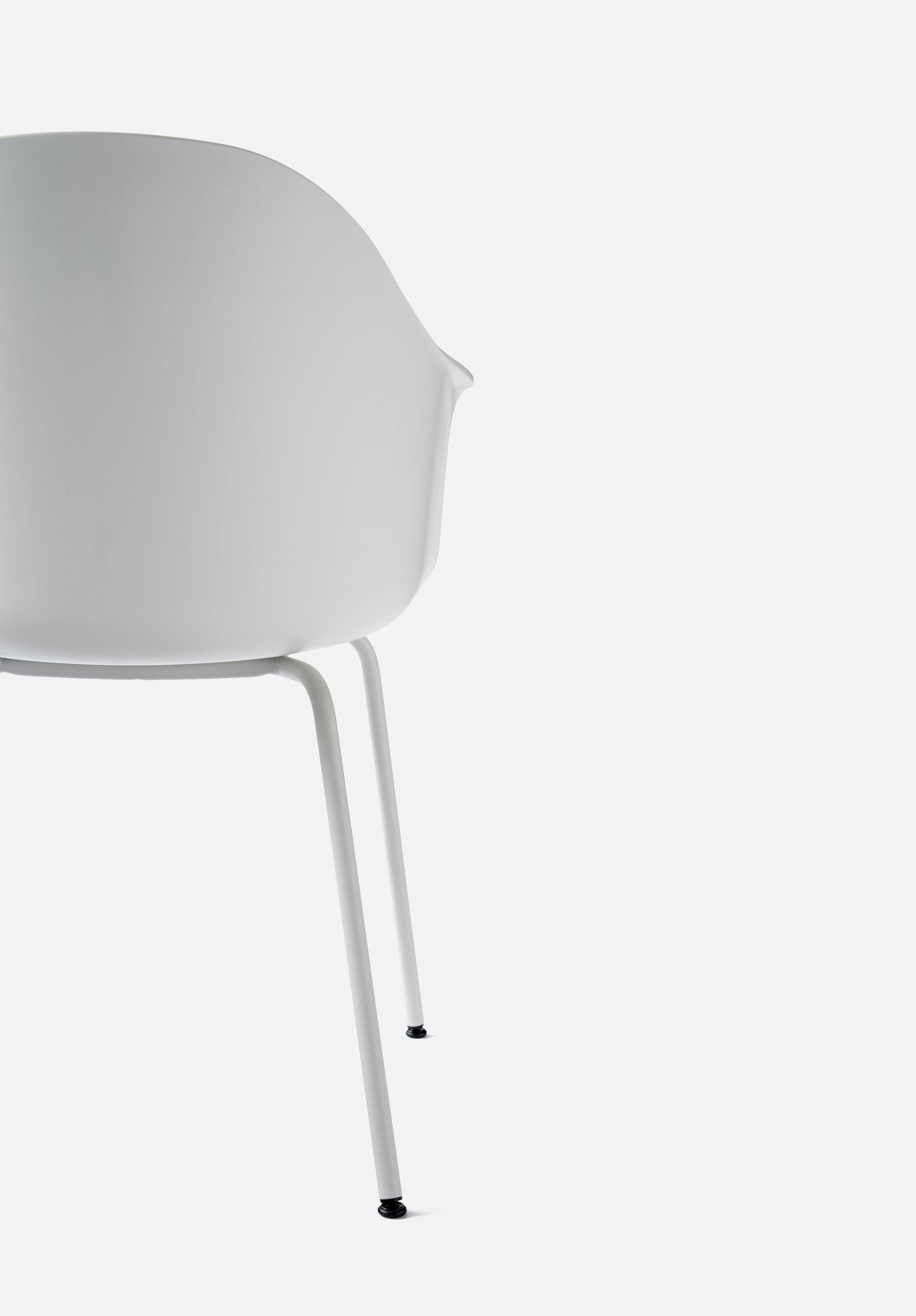 Harbour Chair - Steel Base-Norm Architects-Menu-white-White Steel-danish-interior-furniture-denmark-Average-design-toronto-canada