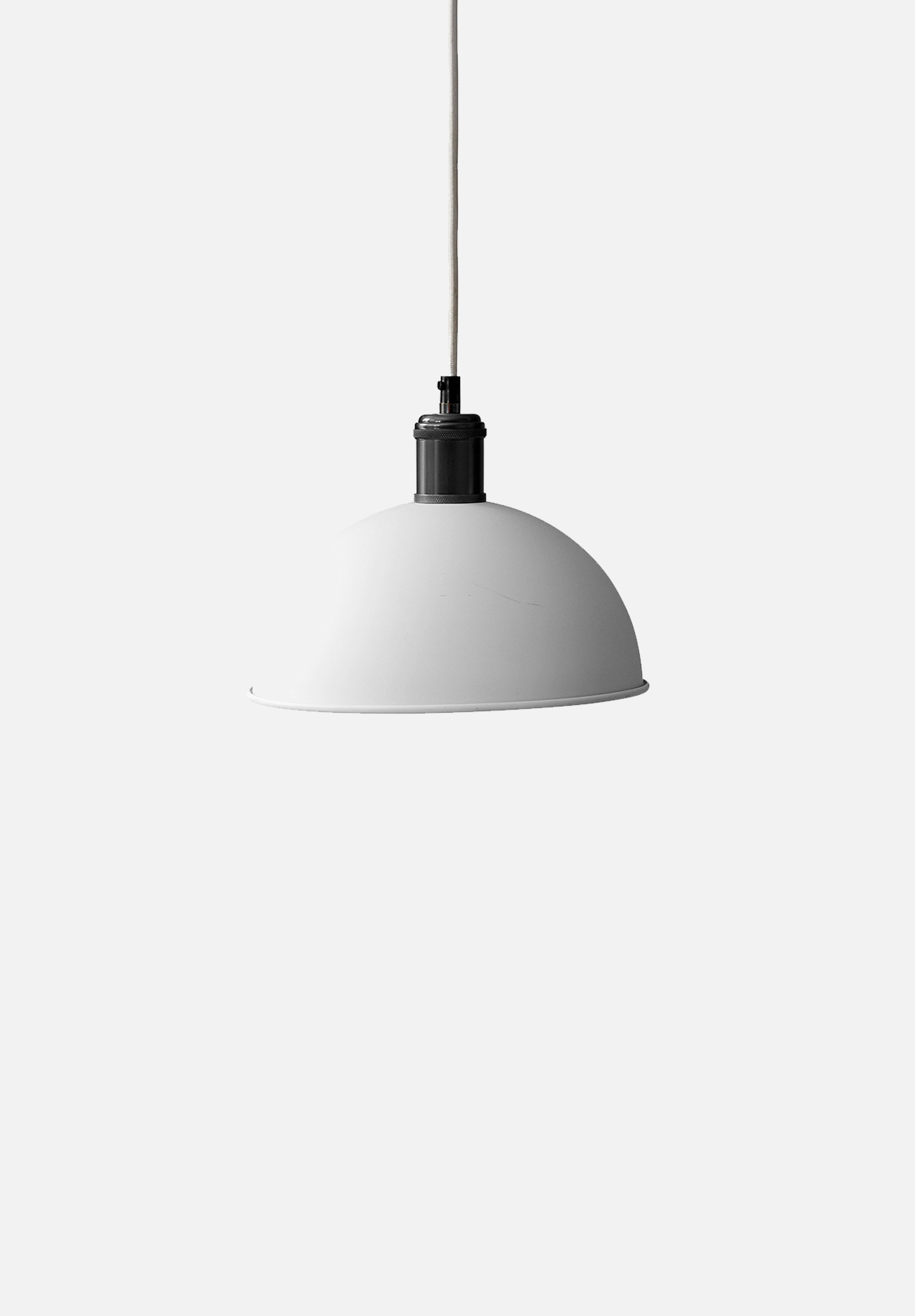 Hubert Pendant — 24cm-Søren Rose-Menu-Ivory/Bronzed Brass-danish-interior-furniture-denmark-Average-design-toronto-canada