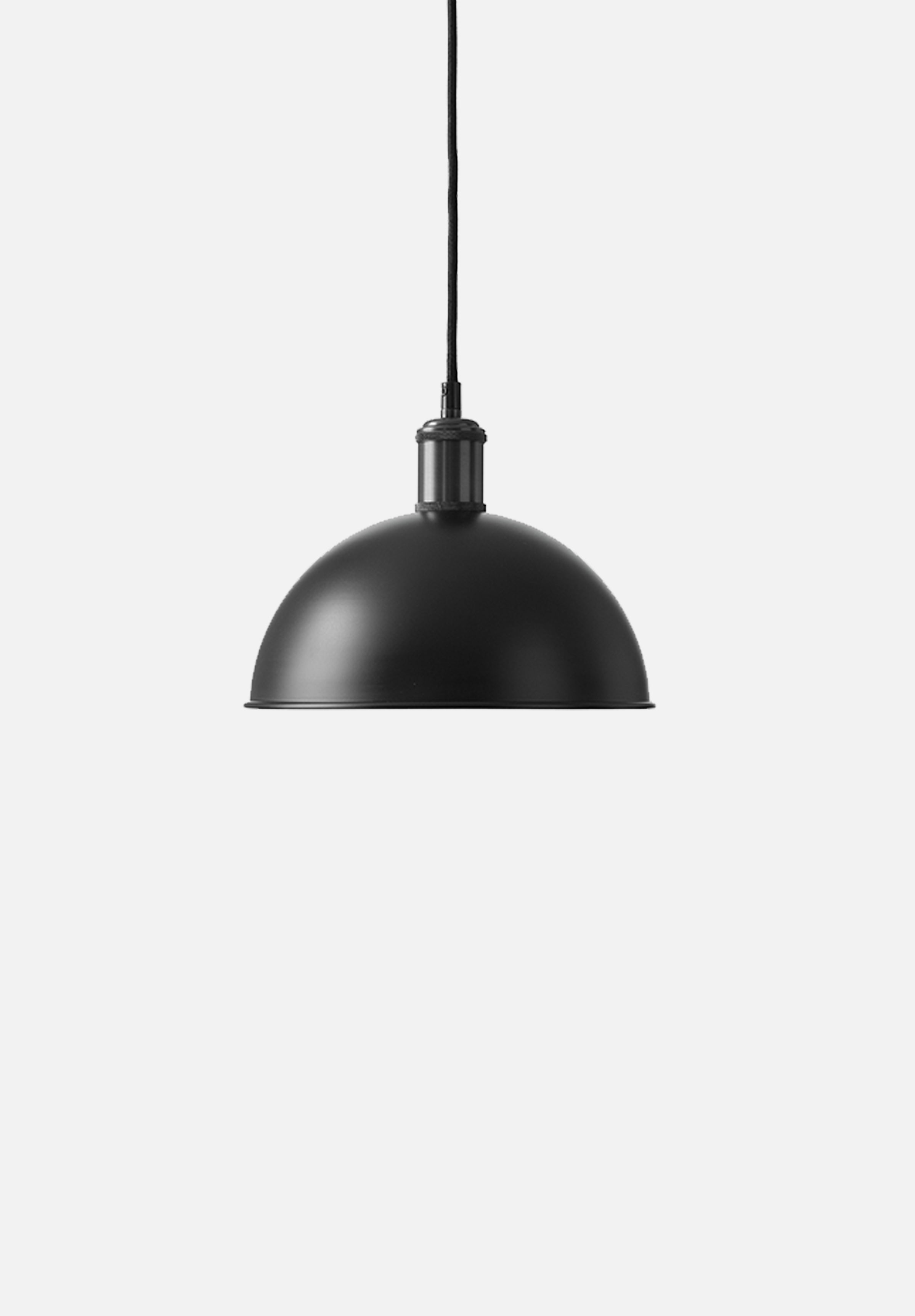 Hubert Pendant — 24cm-Søren Rose-Menu-Black/Bronzed Brass-danish-interior-furniture-denmark-Average-design-toronto-canada