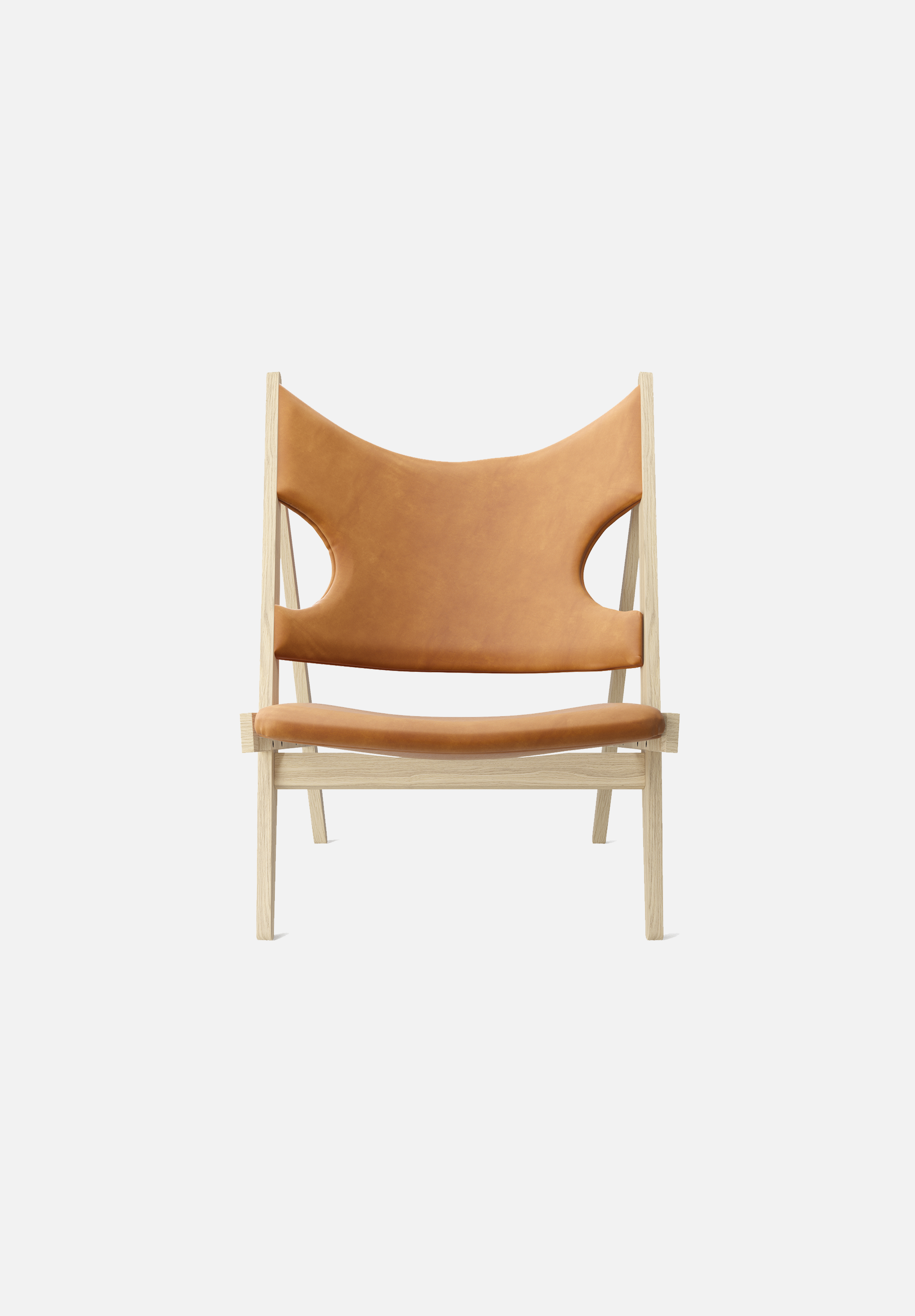 Knitting Lounge Chair — Natural Oak