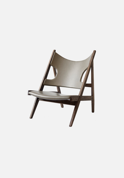 Knitting Lounge Chair — Smoked Oak