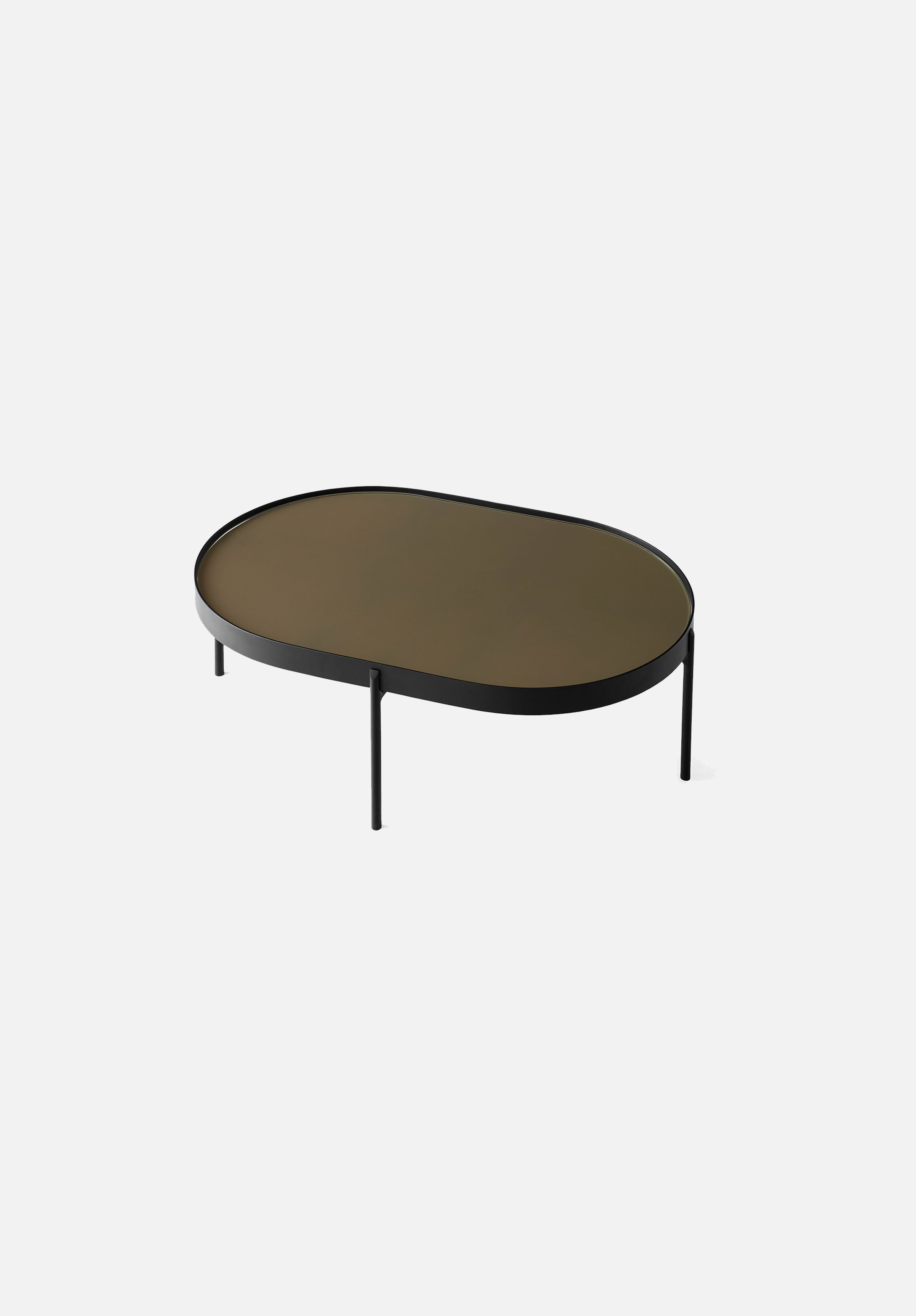 NoNo Coffee Table-Norm Architects-Menu-Large Brown Glass-Average