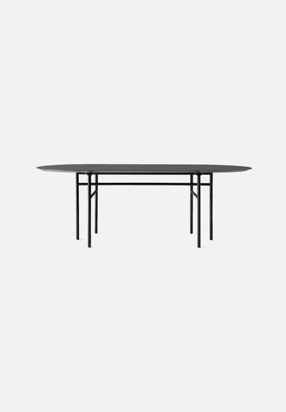 Snaregade — Oval Table-Norm Architects-Menu-Charcoal Linoleum-Average