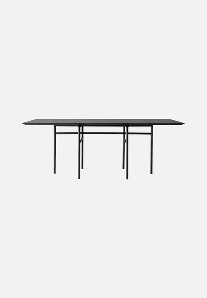 Snaregade — Rectangular Tables-Norm Architects-Menu-Black Veneer-Average
