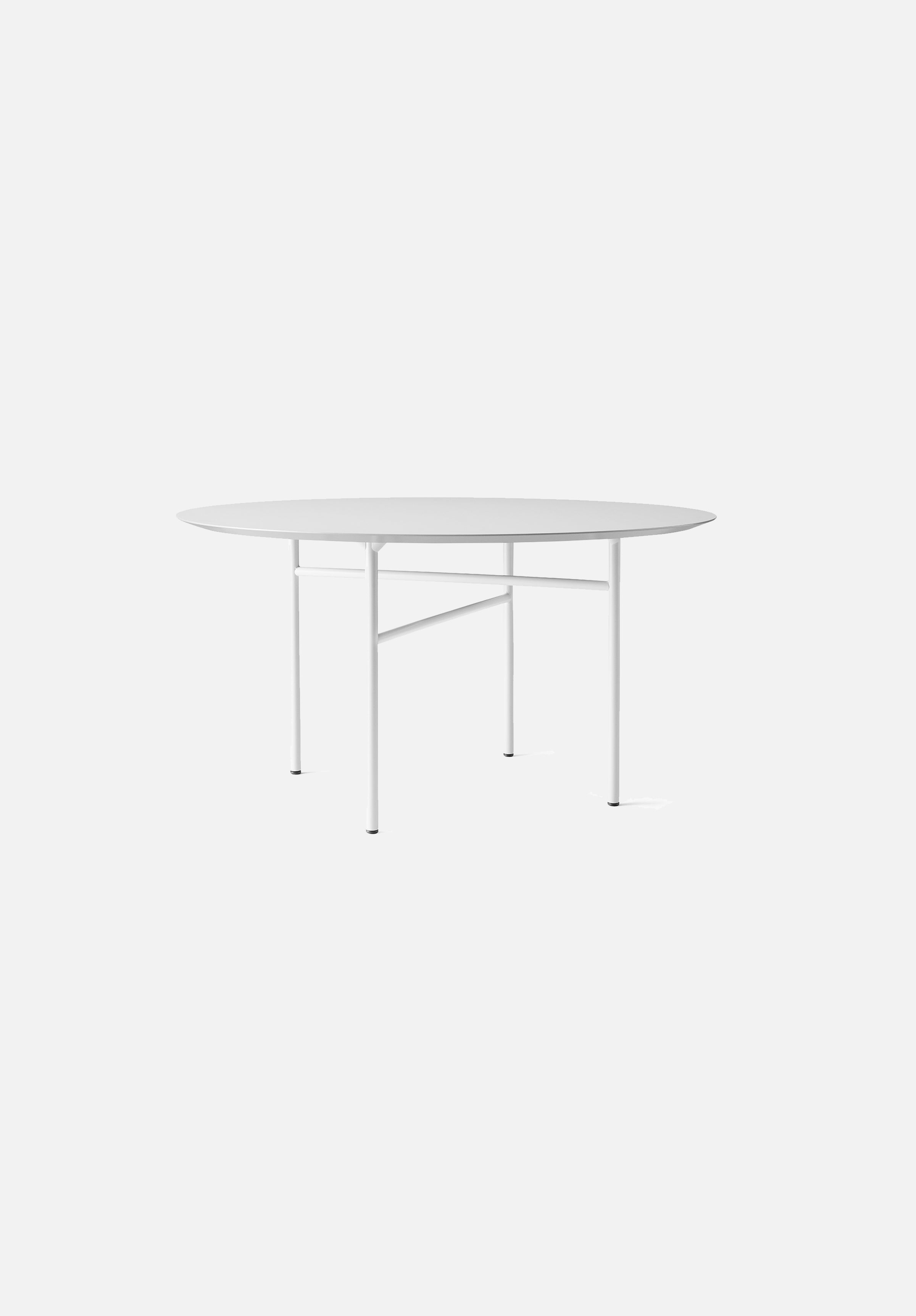 "Snaregade Dining Table — Round-Norm Architects-Menu-54""-Light Grey-Linoleum-danish-interior-furniture-denmark-Average-design-toronto-canada"