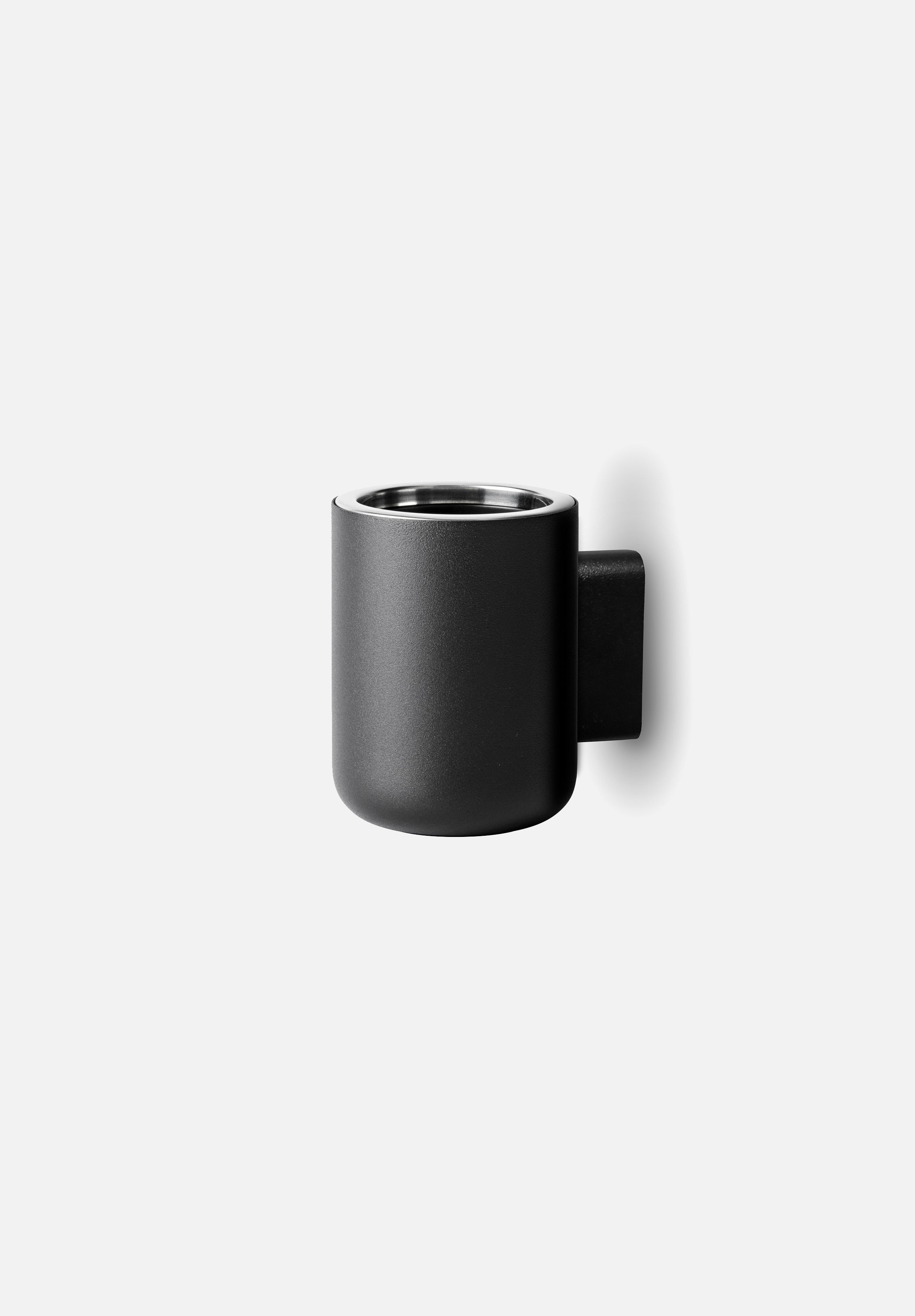 Toothbrush Holder-Norm Architects-Menu-Black-Wall Mounted-Average