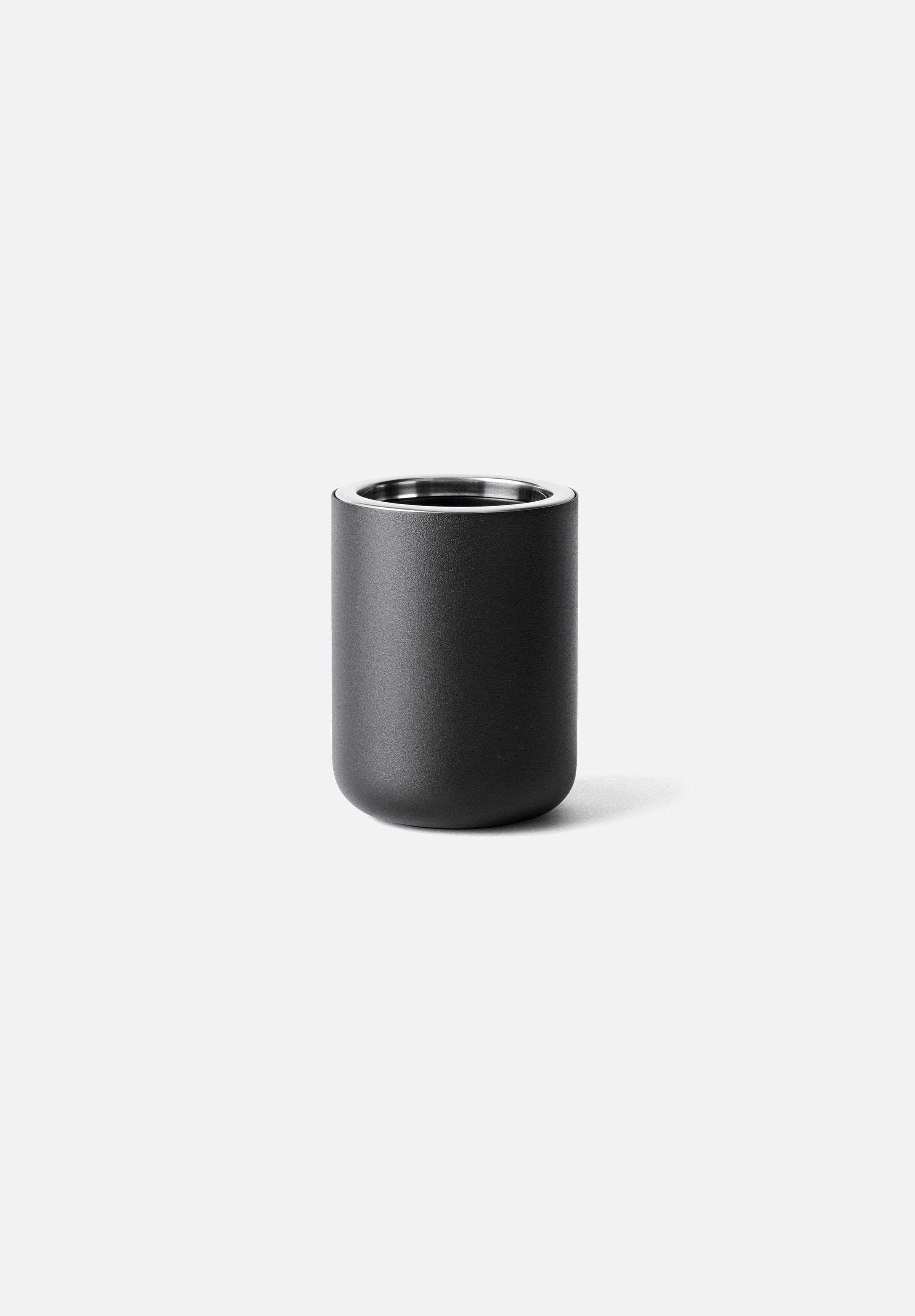 Toothbrush Holder-Norm Architects-Menu-Black-Standing-Average