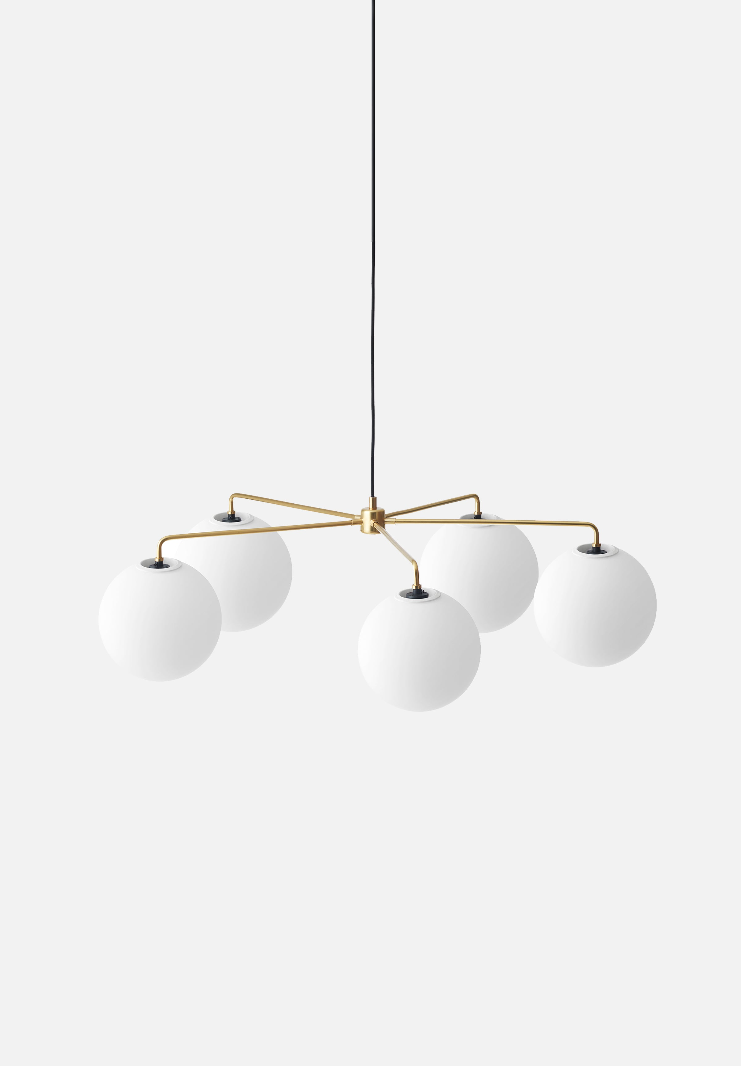 Tribeca Chambers Chandelier — 96cm-Søren Rose-Menu-Brass-No Bulbs-danish-interior-furniture-denmark-Average-design-toronto-canada