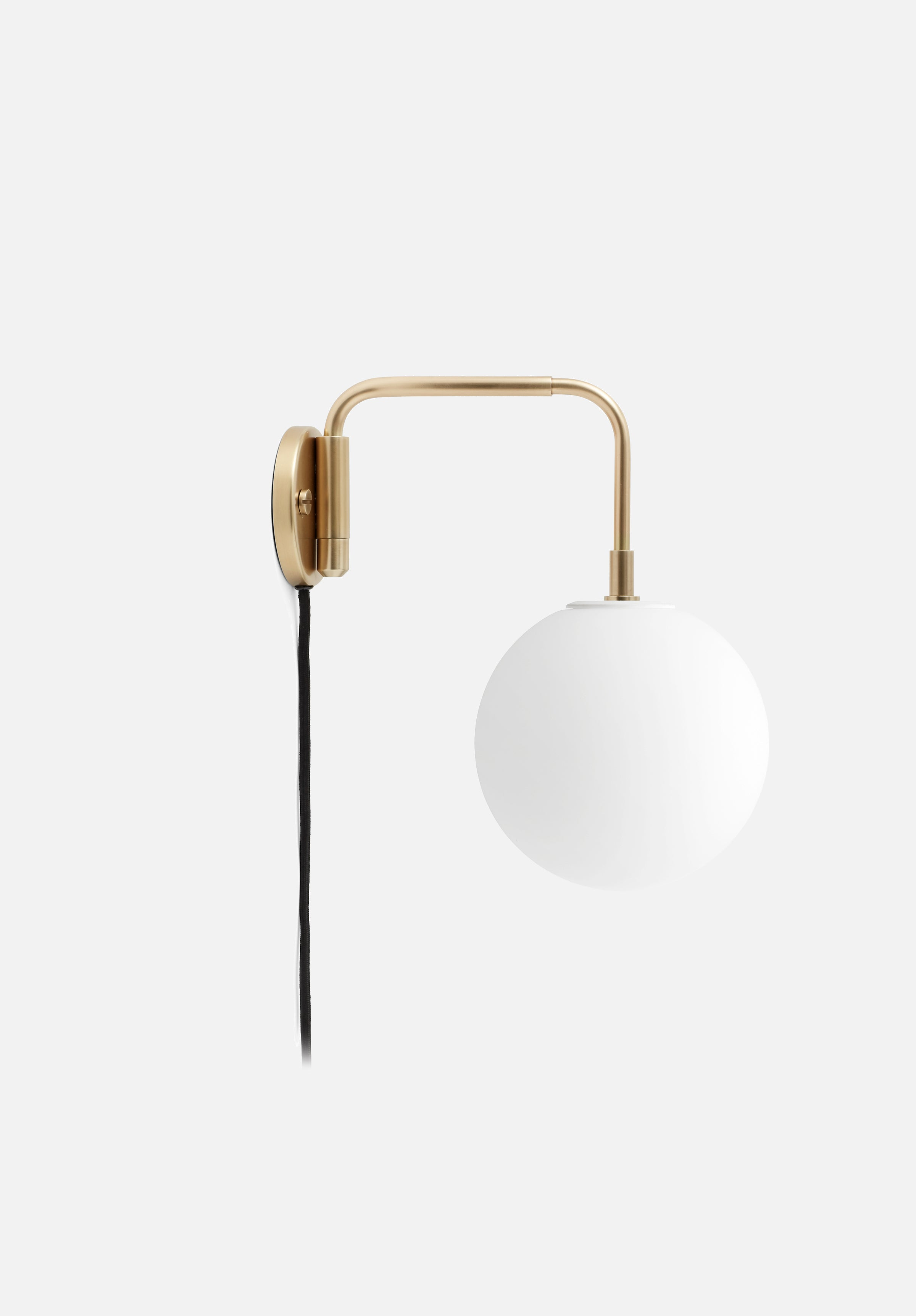 Tribeca Staple Wall Lamp-Søren Rose-Menu-Brass-No-Average