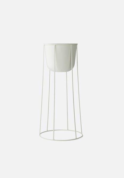 Wire System — White-Norm Architects-Menu-Small Base-Pot-danish-interior-furniture-denmark-Average-design-toronto-canada