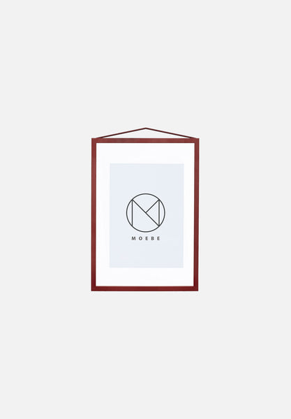 Frame — A4 Deep Red