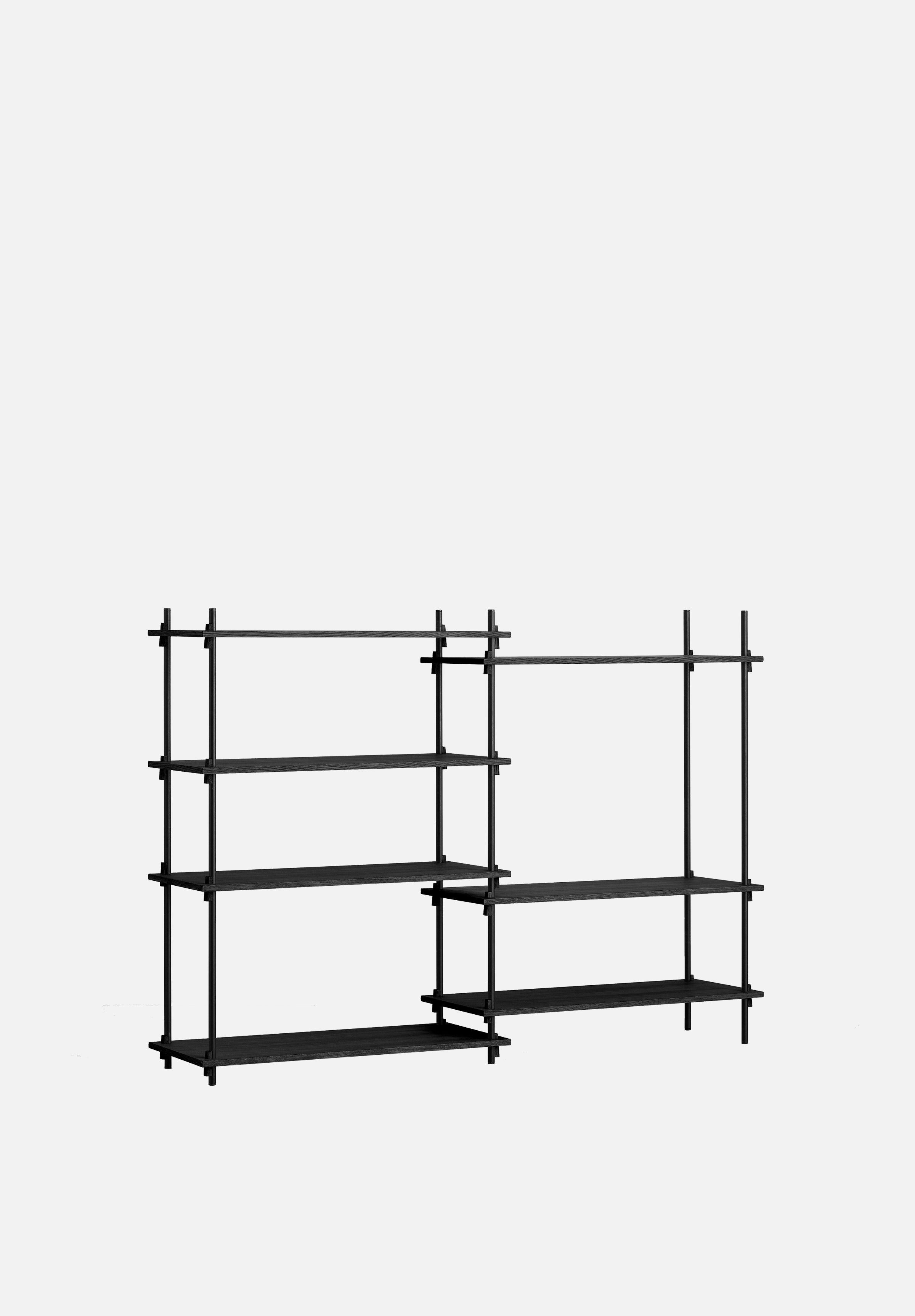Shelving System — Medium-Moebe-Double Bay-Black-danish-interior-furniture-denmark-Average-design-toronto-canada