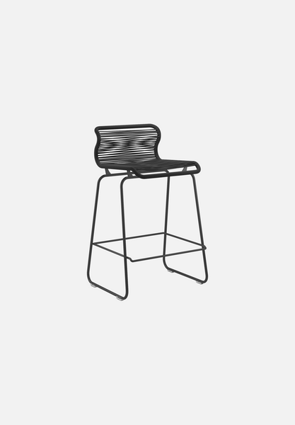 Panton One Stool — Clark-Verner Panton-Montana-Black Legs-Counter Height-Average