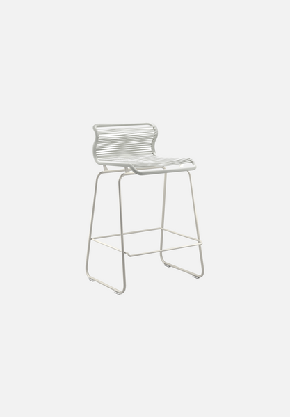 Panton One Stool — Duke-Verner Panton-Montana-Silk Grey Legs-Counter Height-Average