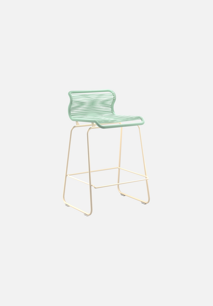 Panton One Stool — Marylinn-Verner Panton-Montana-Beige Legs-Counter Height-Average