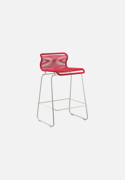 Panton One Stool — Scarlett-Verner Panton-Montana-Silk Grey Legs-Counter Height-Average