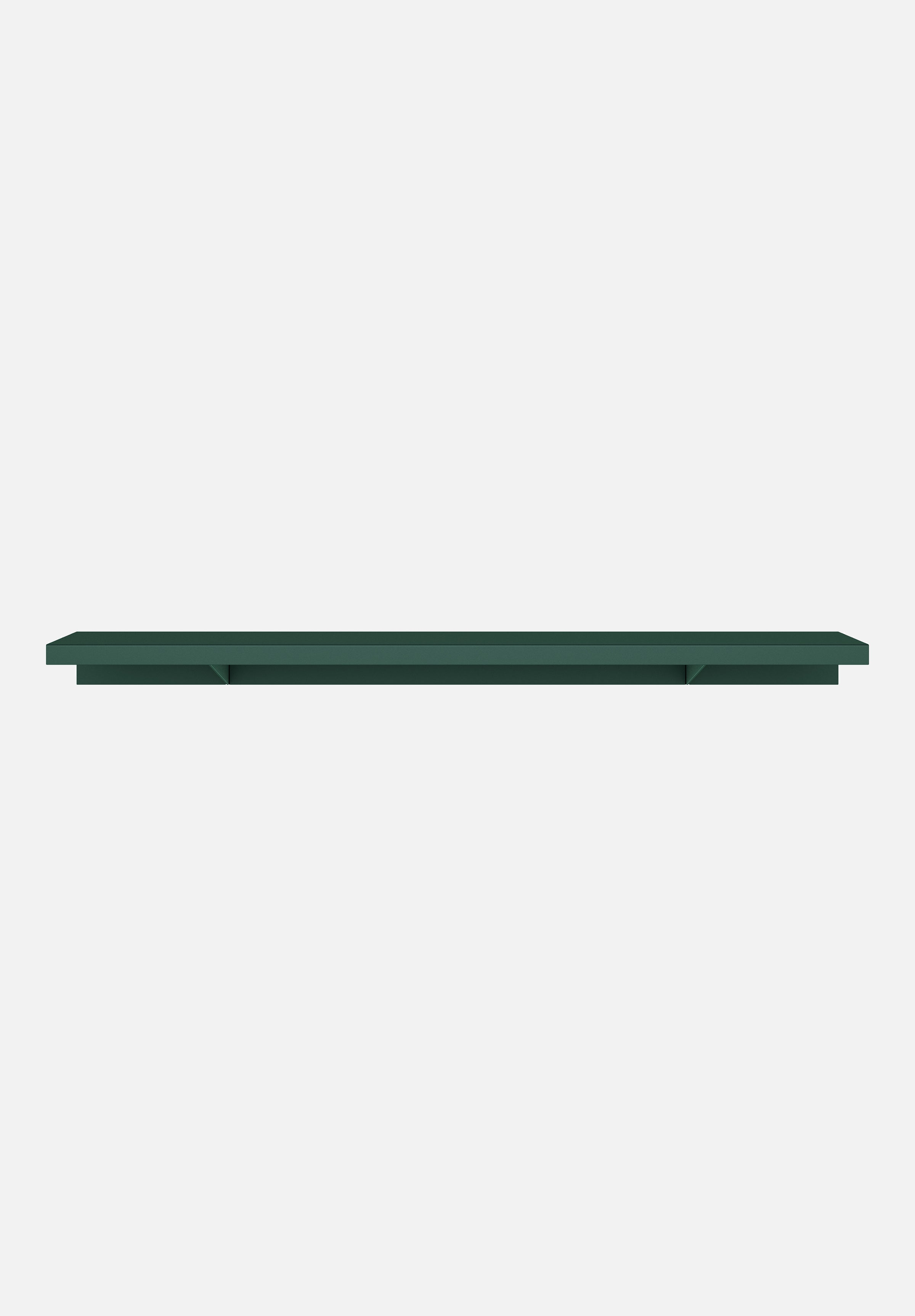 "Apex Shelf — Dark Green-New Tendency-1000mm / 39.4""-Average"
